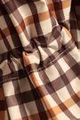 BAUM UND PFERDGARTEN Checked shell hooded raincoat