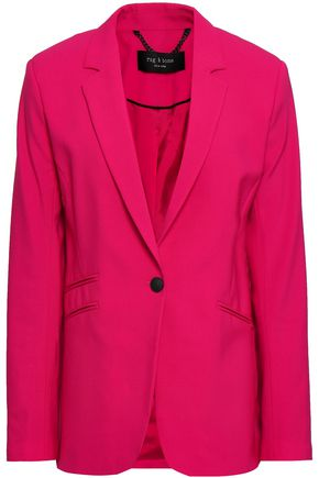 RAG & BONE Stretch-wool crepe blazer