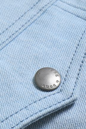 RAG & BONE Two-tone denim jacket