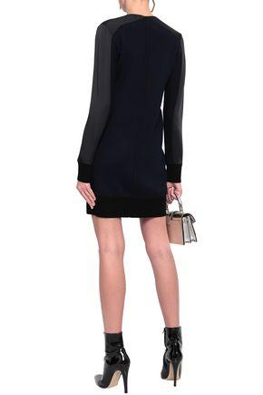 RAG & BONE Satin-crepe mini dress