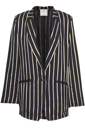 FORTE_FORTE Striped woven blazer