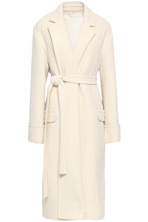 HELMUT LANG Belted wool coat