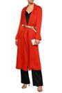 GALVAN  London Satin-crepe trench coat