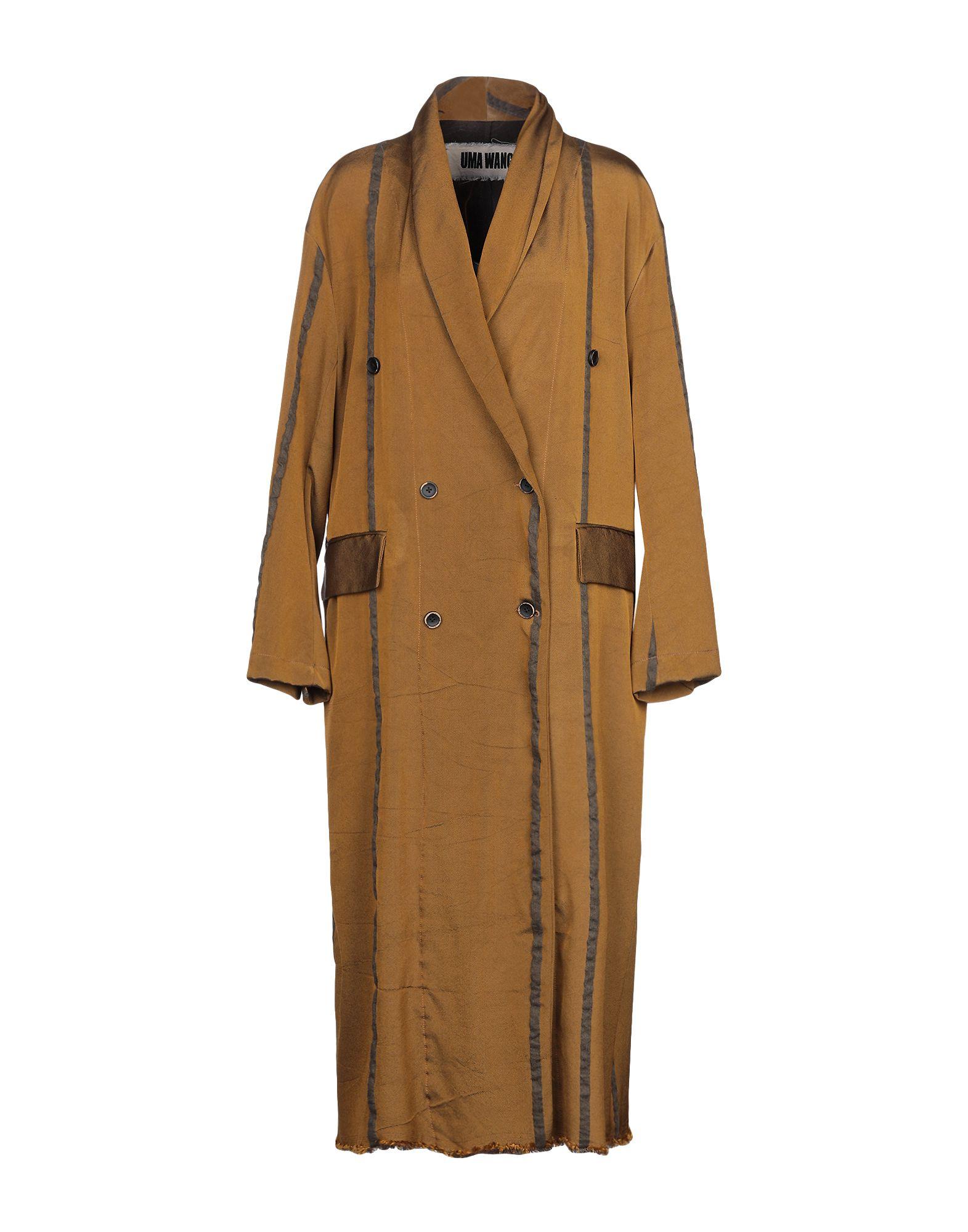 цены UMA WANG Легкое пальто