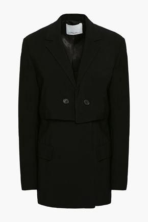 3.1 PHILLIP LIM Double-breasted crepe blazer
