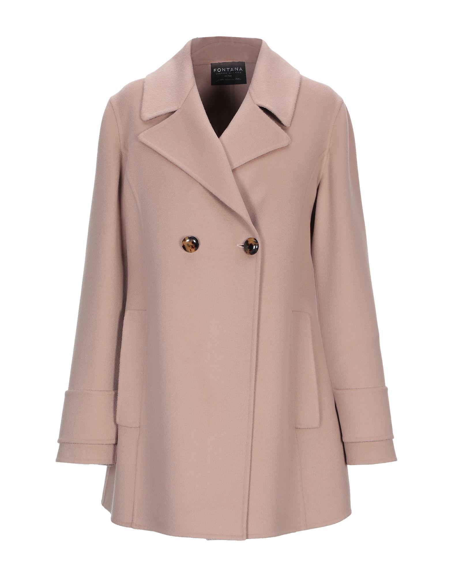 FONTANA COUTURE Пальто fontana couture pубашка