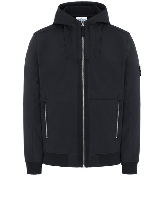 STONE ISLAND Q0222 LIGHTWEIGHT JACKET Man Black