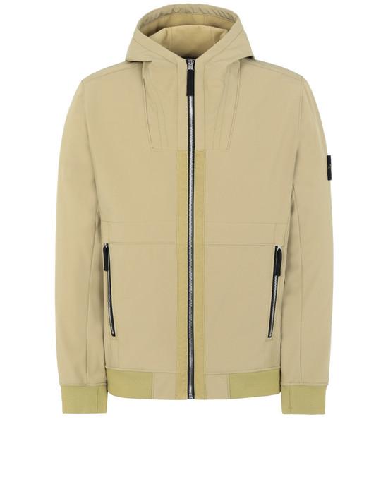 STONE ISLAND Q0222 경량 재킷 남성 머스터드