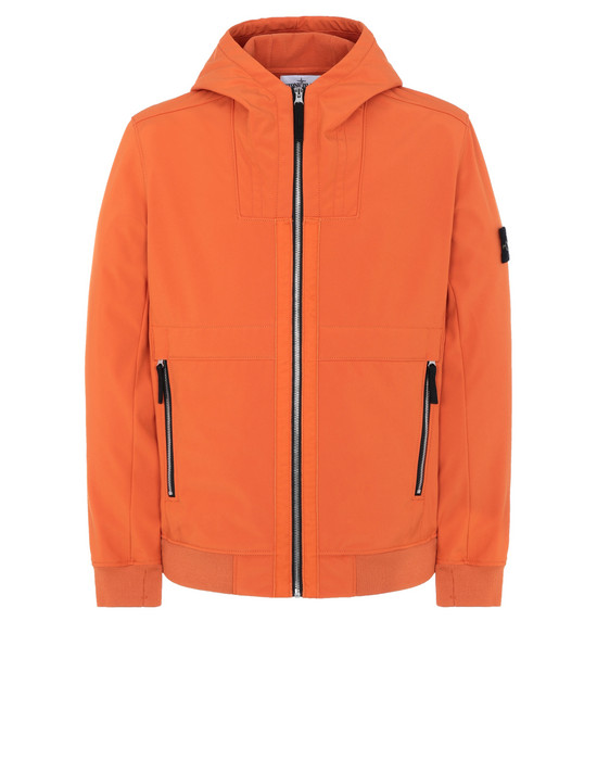 STONE ISLAND Q0222 LIGHTWEIGHT JACKET Man Orange