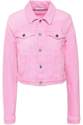 COTTON CITIZEN Cropped denim jacket