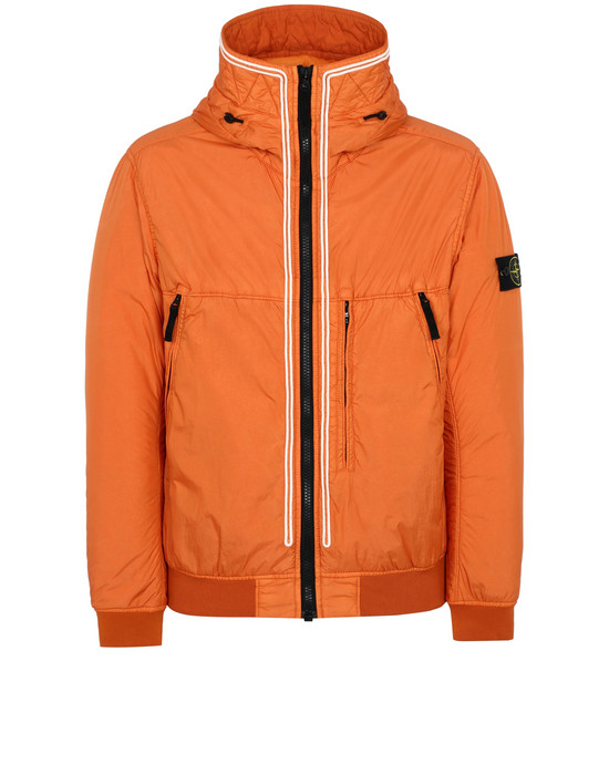 Cazadora 44523 GARMENT DYED CRINKLE REPS NY STONE ISLAND - 0