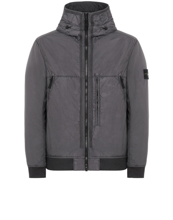 Giubbotto 44523 GARMENT DYED CRINKLE REPS NY STONE ISLAND - 0