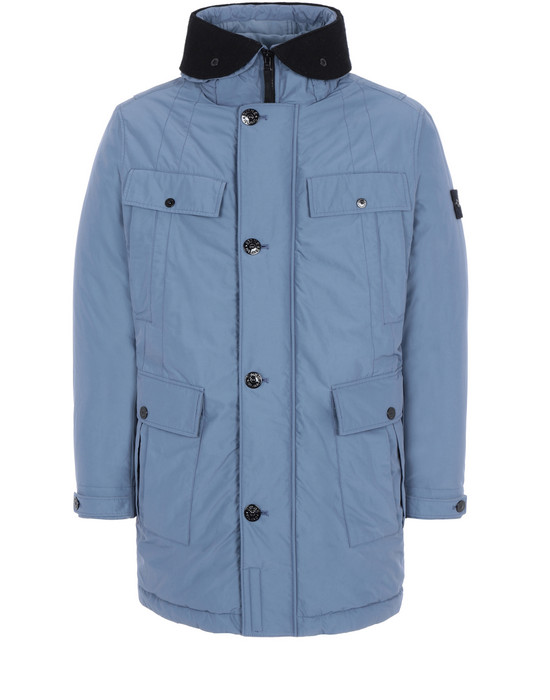 STONE ISLAND Mid-length jacket 70226 MICRO REPS WITH PRIMALOFT® INSULATION TECHNOLOGY