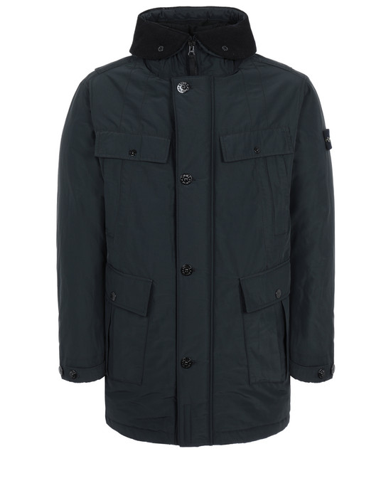 Mid-length jacket 70226 MICRO REPS WITH PRIMALOFT® INSULATION TECHNOLOGY  STONE ISLAND - 0