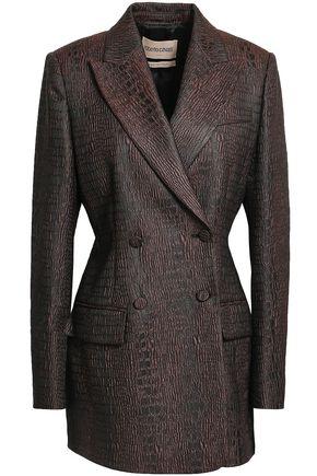 ROBERTO CAVALLI Double-breasted jacquard blazer