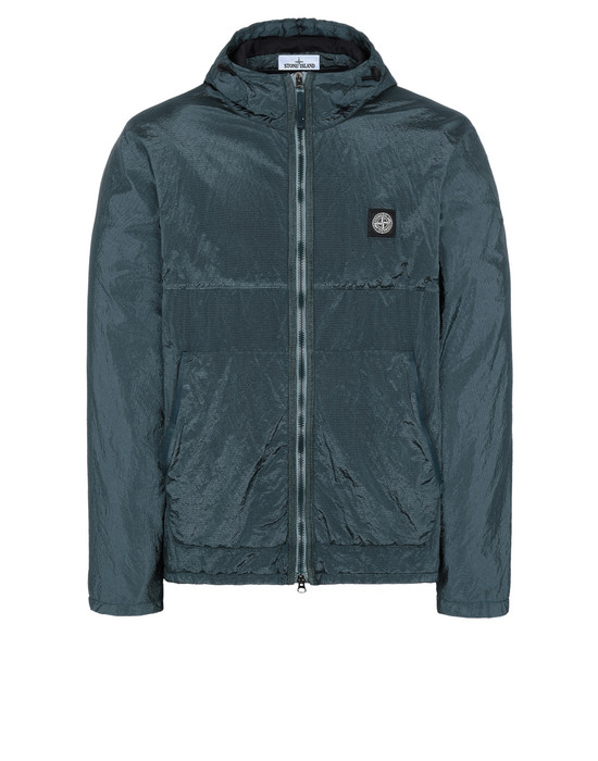 STONE ISLAND Q1132 NYLON METAL WATRO RIPSTOP + RETE ISOLANTE-TC LIGHTWEIGHT JACKET Man Dark Teal Green