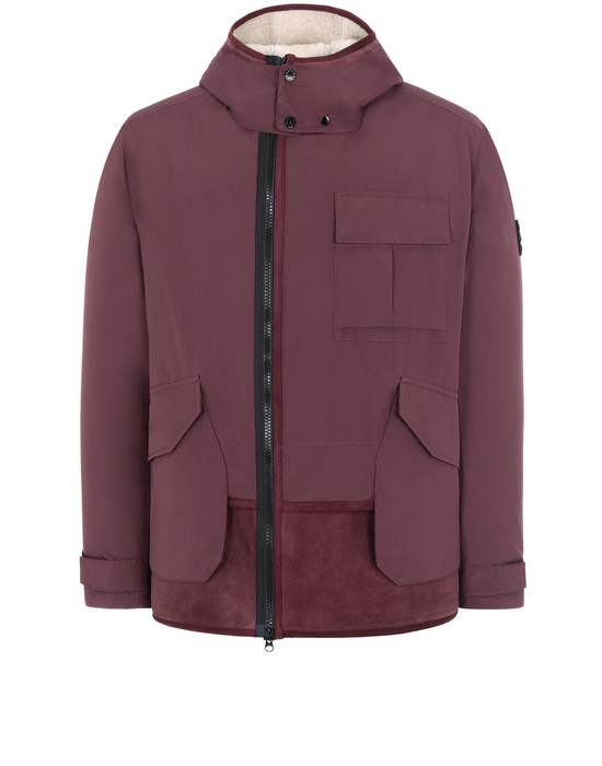 STONE ISLAND 41430 GORE-TEX INFINIUM™ WITH SHEEPSKIN_PRIMALOFT® INSULATION Jacket Man