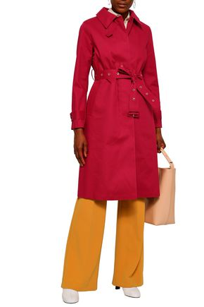 MACKINTOSH Belted cotton trench coat