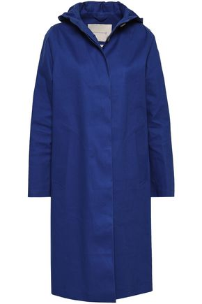 MACKINTOSH Waterproof cotton-gabardine hooded coat
