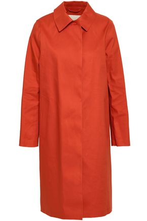MACKINTOSH Waterproof cotton-gabardine coat