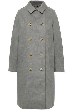 MACKINTOSH Double-breasted cotton raincoat