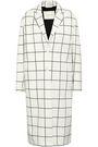 MACKINTOSH Checked cotton-blend jacquard coat