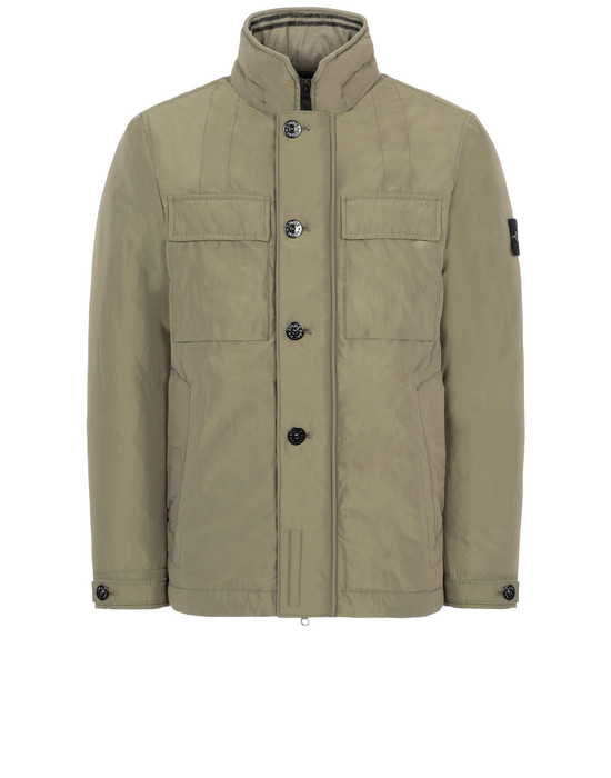 STONE ISLAND 40826 MICRO REPS WITH PRIMALOFT® INSULATION TECHNOLOGY Jacket Man Olive Green