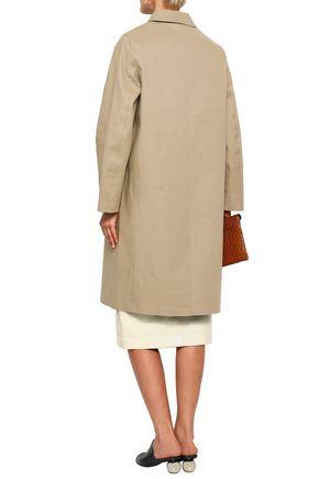 MACKINTOSH Double-breasted waterproof cotton-gabardine coat