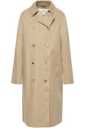 MACKINTOSH Double-breasted waterproof cotton-gabardine coat
