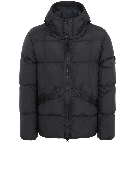 Jacket 40223 GARMENT-DYED CRINKLE REPS NY DOWN STONE ISLAND - 0