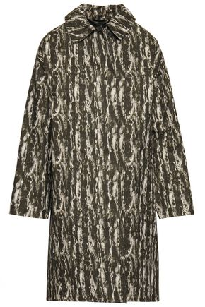 MACKINTOSH Waterproof printed cotton-gabardine coat