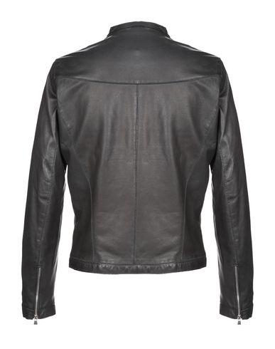 Фото 2 - Мужскую куртку GIAMBI черного цвета