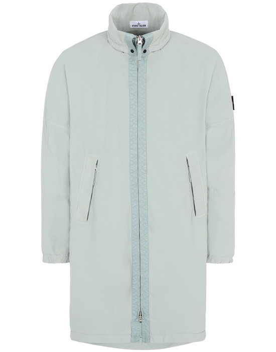 STONE ISLAND 70631 DAVID LIGHT-TC WITH MICROPILE Mid-length jacket Man Dust Grey