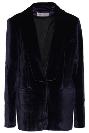 SELF-PORTRAIT Velvet blazer