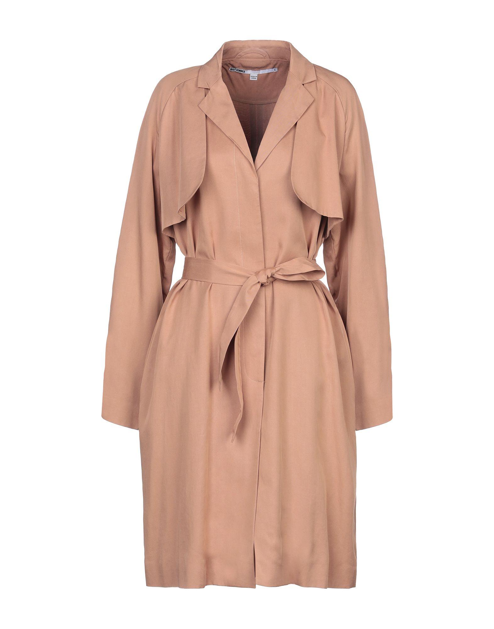 JUST FEMALE Легкое пальто пальто just in case пальто