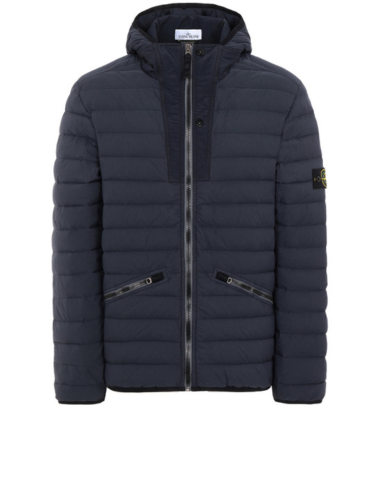 STONE ISLAND 休闲夹克 43125 LOOM WOVEN DOWN CHAMBERS STRETCH NYLON-TC