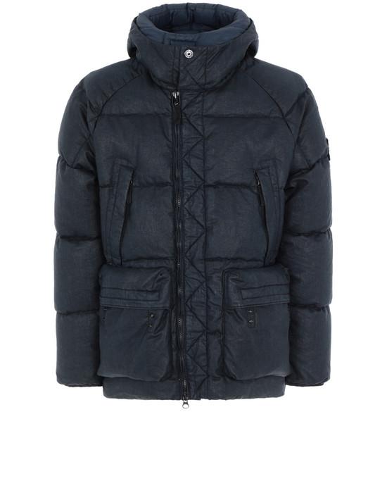 Mid-length jacket 42033 LINO RESINATO DOWN-TC  STONE ISLAND - 0