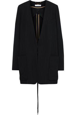 CHLOÉ Tie-front crepe blazer