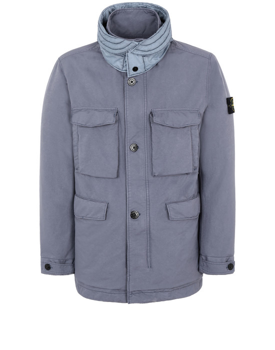 STONE ISLAND 41249 DAVID-TC WITH PRIMALOFT® INSULATION TECHNOLOGY Jacket Man Avio Blue