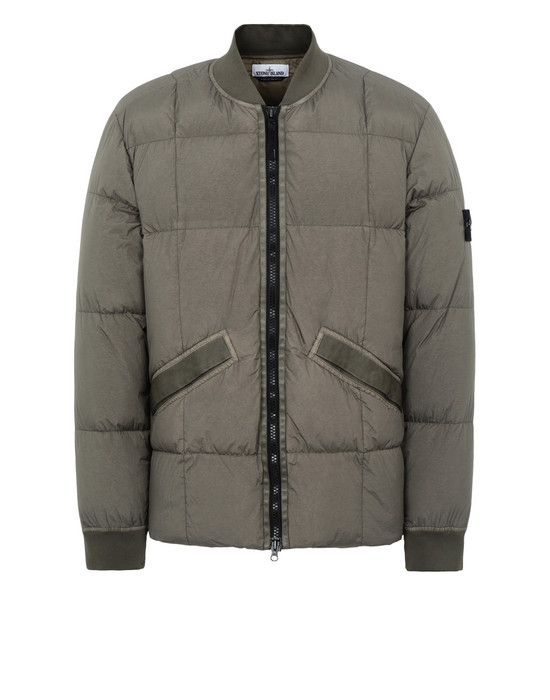Jacket 40423 GARMENT DYED CRINKLE REPS NY DOWN STONE ISLAND - 0