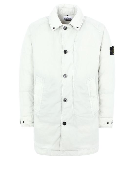 Mid-length jacket 71421 50 FILI RESINATA DOWN-TC STONE ISLAND - 0