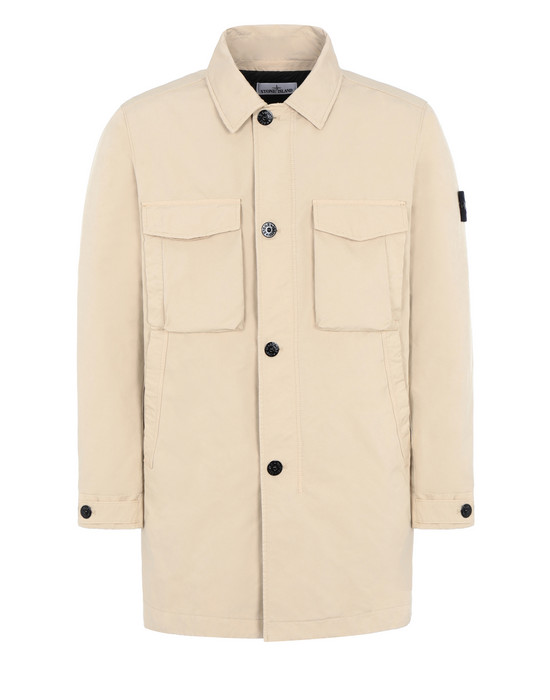 STONE ISLAND Mittellange Jacke 70349 DAVID-TC WITH PRIMALOFT® INSULATION TECHNOLOGY