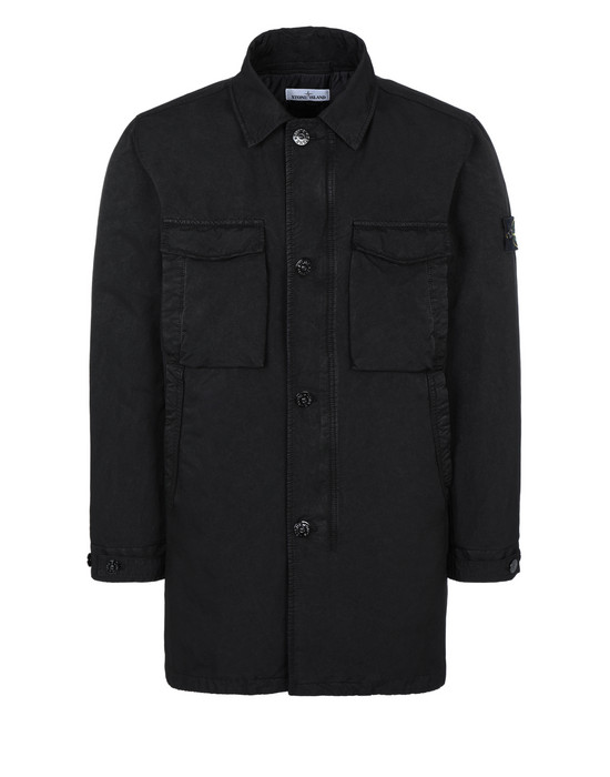 STONE ISLAND 70349 DAVID-TC WITH PRIMALOFT® INSULATION TECHNOLOGY Mid-length jacket Man Black