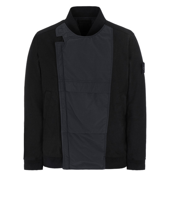 STONE ISLAND Jacket 443F1 GHOST PIECE_MIL_SPEC DIAGONAL WOOL