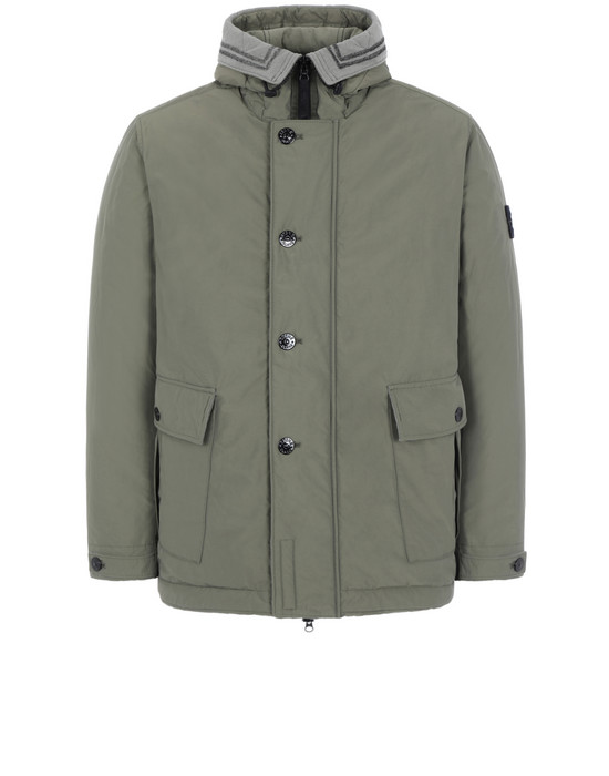 STONE ISLAND 40626 MICRO REPS WITH PRIMALOFT® INSULATION TECHNOLOGY  Jacket Man Olive Green