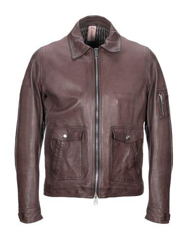 Фото - Мужскую куртку GIAMBI темно-коричневого цвета