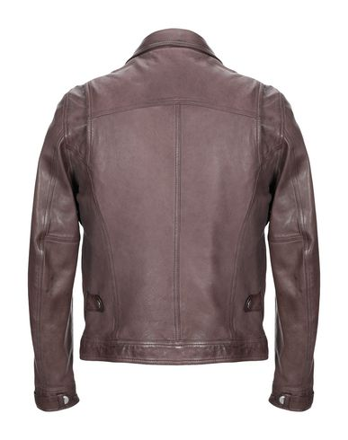 Фото 2 - Мужскую куртку GIAMBI темно-коричневого цвета