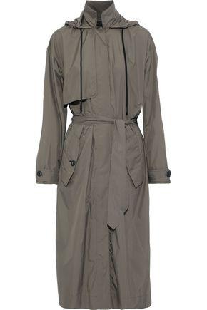 RAG & BONE Halsey shell hooded trench coat