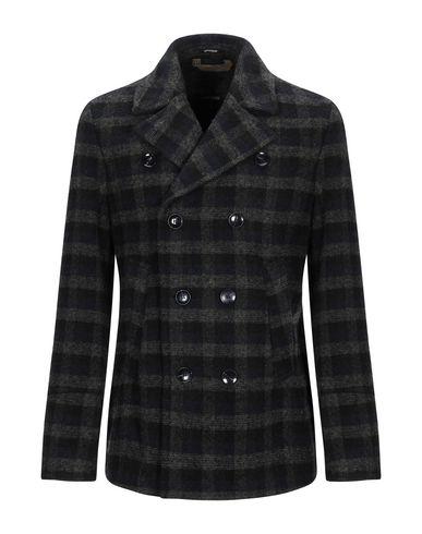Фото - Мужское пальто или плащ OFFICINA 36 зеленого цвета