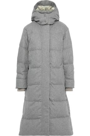 RAG & BONE Jenset quilted wool-blend down hooded coat